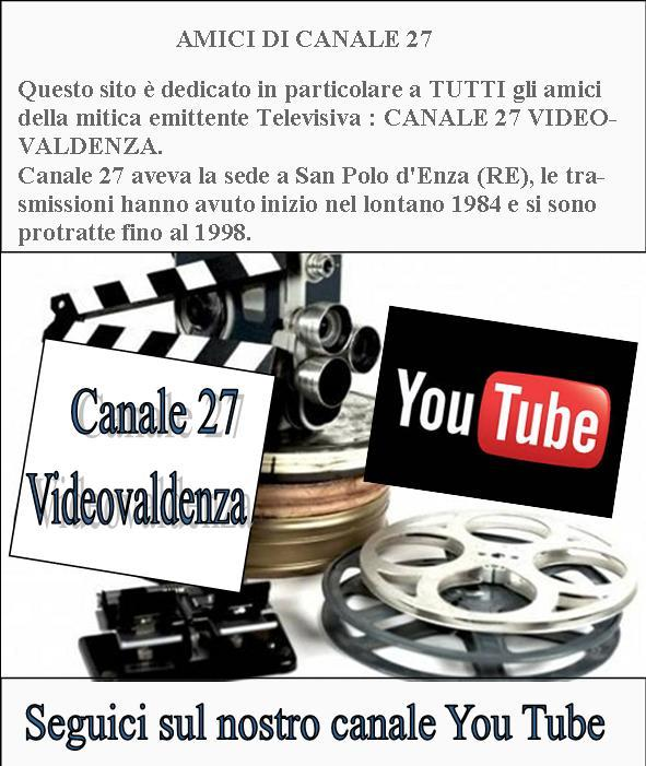 Canale 27 Videovaldenza