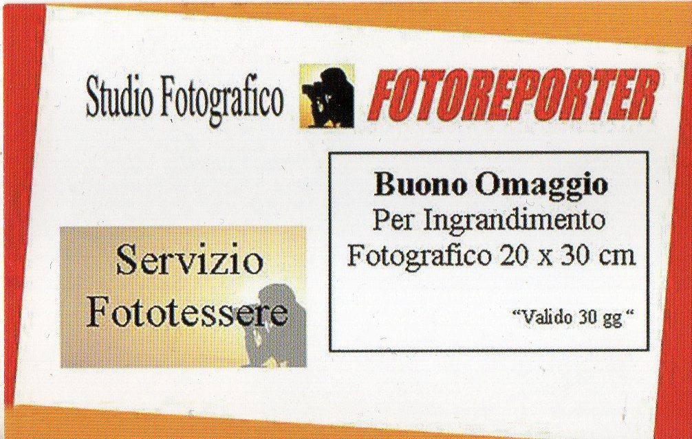 Promozione Fototessere